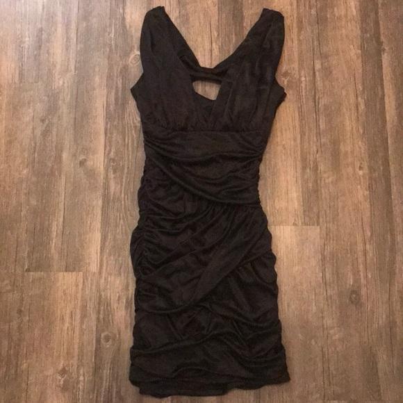 Speechless Dresses Little Black Dress With Bow Open Back Poshmark